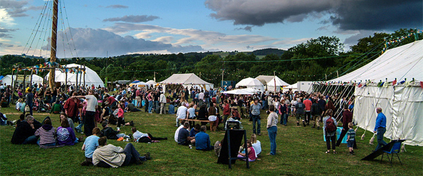 The town of Presteigne, near Nash Hall, hosts the Sheep Music Festival every summer. Photo by PaulWilliams66/Flickr.