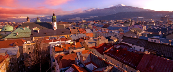 Innsbruck is a great jumping off point for ski holidays in the Austrian Alps.