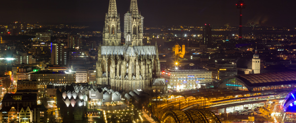 A look at Cologne and its stunning cathedral.