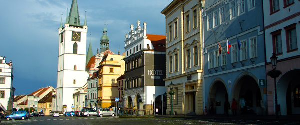 The historic city center of Litoměřice. Photo by Tjflex2/Flickr.