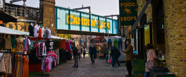 Camden is a fascinating part of London that's home to markets and alt-culture.