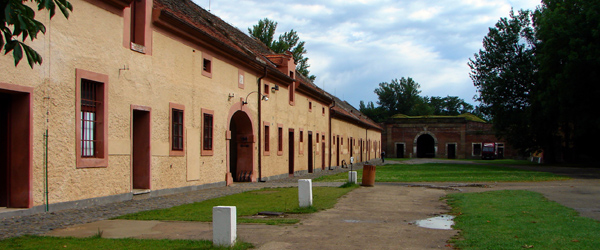 The Terezin Fortress was turned into a concentration camp by the Nazis in World War II.