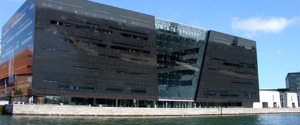 The Black Diamond building of the Royal Library of Copenhagen. Photo by Elizabeth Thomsen/Flickr.