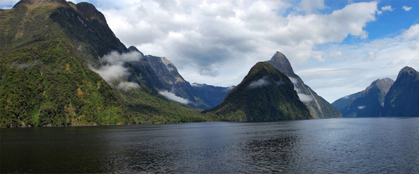 Milford Sound is definitely a worthwhile stop. Photo by VictorGarcia/Flickr.
