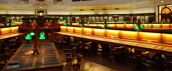 The Latrobe Reading Room in the State Library of Victoria. Photo by avlxyz/Flickr.