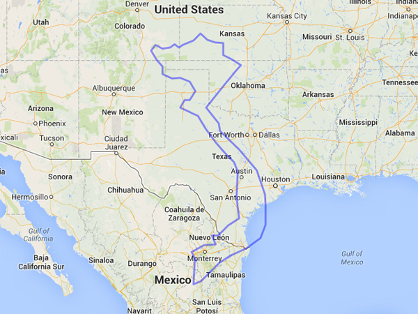 Comparing the sizes of Vietnam and Texas.