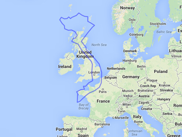 How Big Is Vietnam In Comparison To The United States Germany - Norway map uk