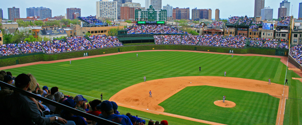 Wrigley Field is the venerable home of the Chicago Cubs.