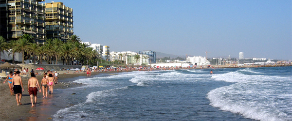 On one of Marbella's many beaches. Photo by David Domingo/Flickr.