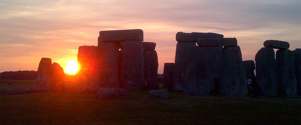 A look at Stonehenge at sunset. Photo by The Stonehenge Stone Circle Website.