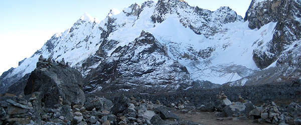 The rugged and remote scenery on Peru's Salkantay Trek. Photo by Esme_Vos/Flickr.