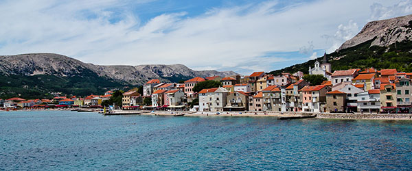 Besides the nude beach, Rab is also home to some beautiful towns.
