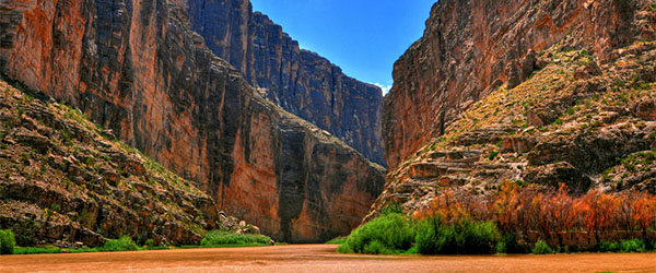 The Big Bend National Park is home to some of Texas' most scenic landscapes. Photo by Robert Hensley/Flickr.