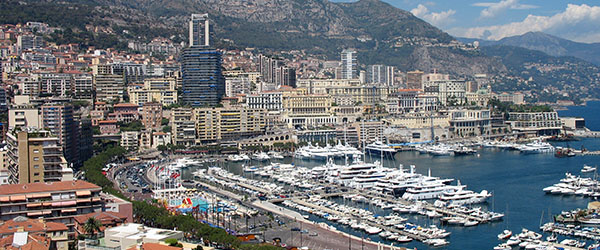 Monte Carlo is home to the world's most expensive real estate, as it's a playground for the rich and famous.