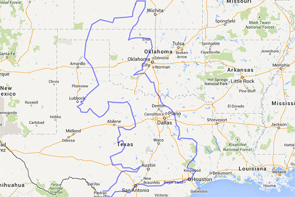 comparing the sizes of texas and the united kingdom