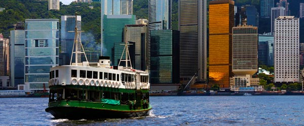 The Star Ferry has been crossing Victoria Harbour since 1888, like the Peak Tram.
