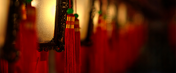 Inside the Man Mo Temple on Hollywood Road. Photo by Peter Thoeny/Flickr.