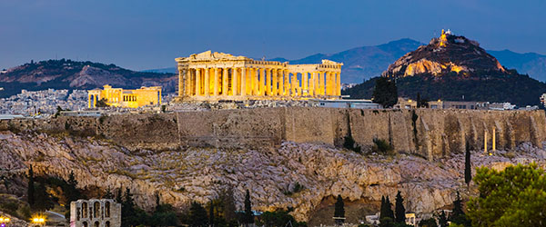 The Acropolis has been at the center of the Athenian skyline for 2,500 years.