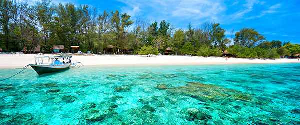 Just next to Bali, the Gili Islands offer a bit more serenity and just as much natural beauty.