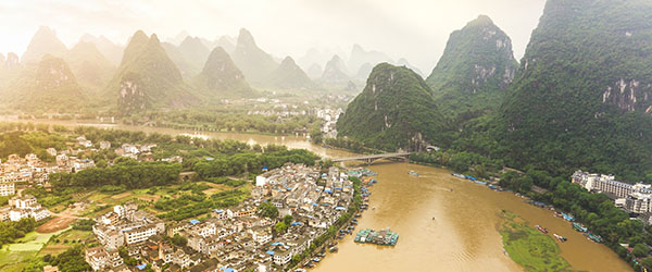 The karst mountains of Yangshuo are one of China's most iconic sights.